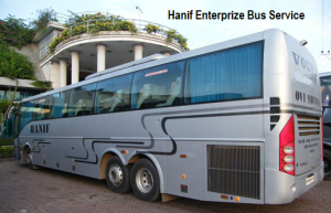 Hanif all Bus Counter Address! Online ticket booking in BD! Contact Number!