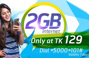 GP 2GB internet 129TK Offer