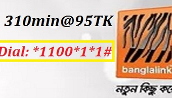 Banglalink 310 Minutes 95TK Offer