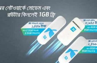 GP New 3G Modem Price with GP Internet offer