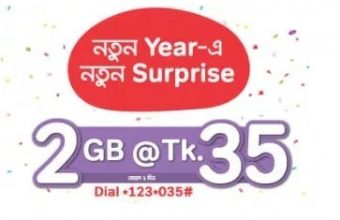 Airtel 2GB Internet 35TK Offer 2018
