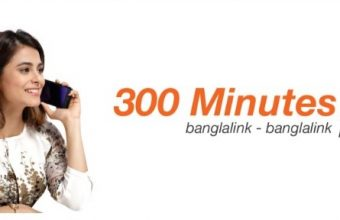 Banglalink 300 Minute 93TK Offer 2018