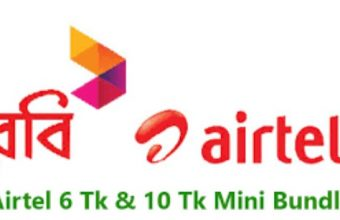 Airtel 6 TK Bundle Offer ­– 10 Minute Talk time 10 MB Internet