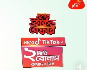 Robi TikTok Internet Bonus Offer