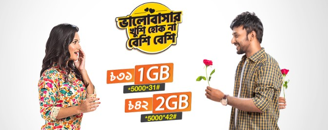 Banglalink 1GB Internet 31TK Offer 2019