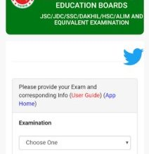 HSC Result 2019 by Android App